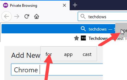 """Win10下的Chrome即将引入""""输入时显示文本建议""""功能的照片 - 2"""