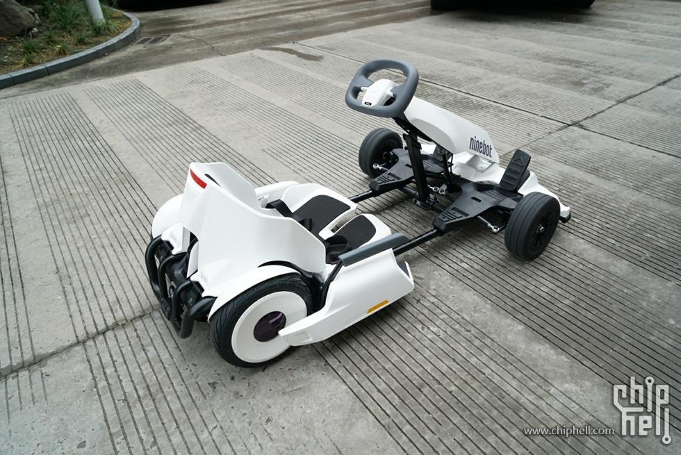 一辆可以圆梦儿时梦的玩具:九号平衡车卡丁车