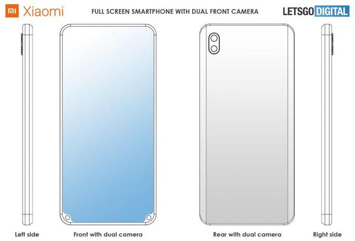 小米新专利曝光:前置摄像头被挪到了屏幕底部的照片 - 5