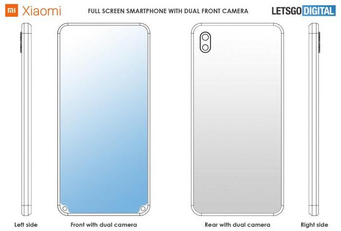 小米新专利曝光:前置摄像头被挪到了屏幕底部的照片 - 4