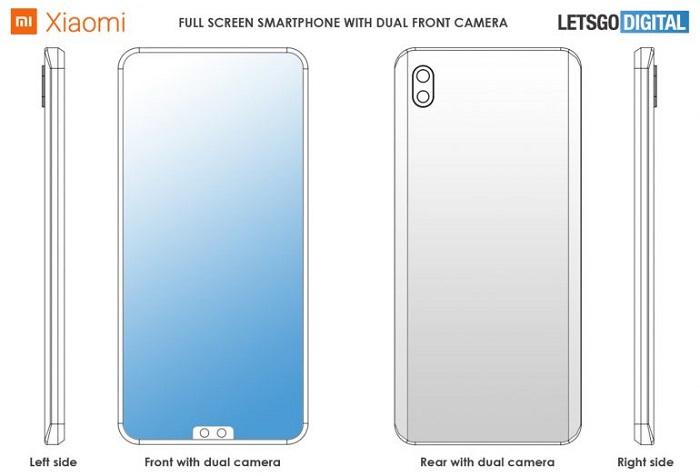 小米新专利曝光:前置摄像头被挪到了屏幕底部的照片 - 3