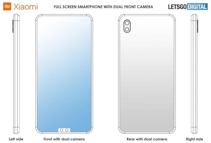 小米新专利曝光:前置摄像头被挪到了屏幕底部的照片 - 2