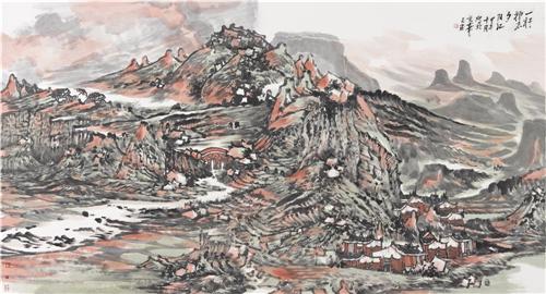 翰墨丹青:著名画家尹天石艺术世界