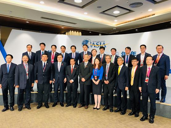"""友信金服张适时参加博鳌论坛中韩CEO对话:建议从两个方面加强中韩金融科技领域合作"""""""