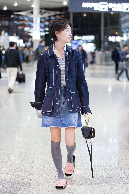 丝袜新玩法?奚梦瑶、宋祖儿、周冬雨丝袜造型,网友直言无法欣赏