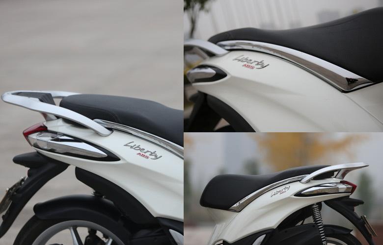 纯进口高品质都市型踏板车:比亚乔Liberty 150