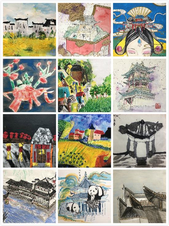 小画家走进世界博物馆系列――意大利LANUVIO市博物馆艺术节