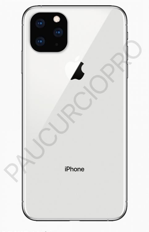 疑似iPhone 11 Max渲染图曝光 或采用后置三摄的照片 - 2