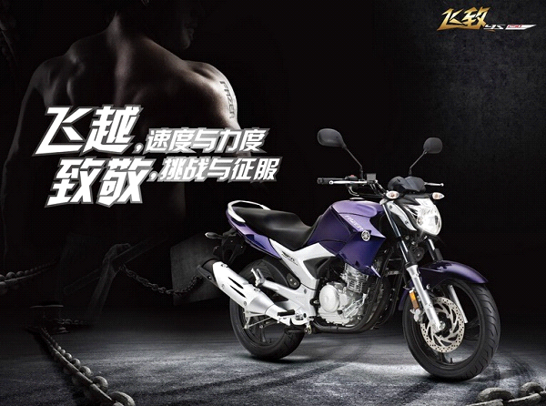 日系品牌250cc街车之:雅马哈飞致YS250