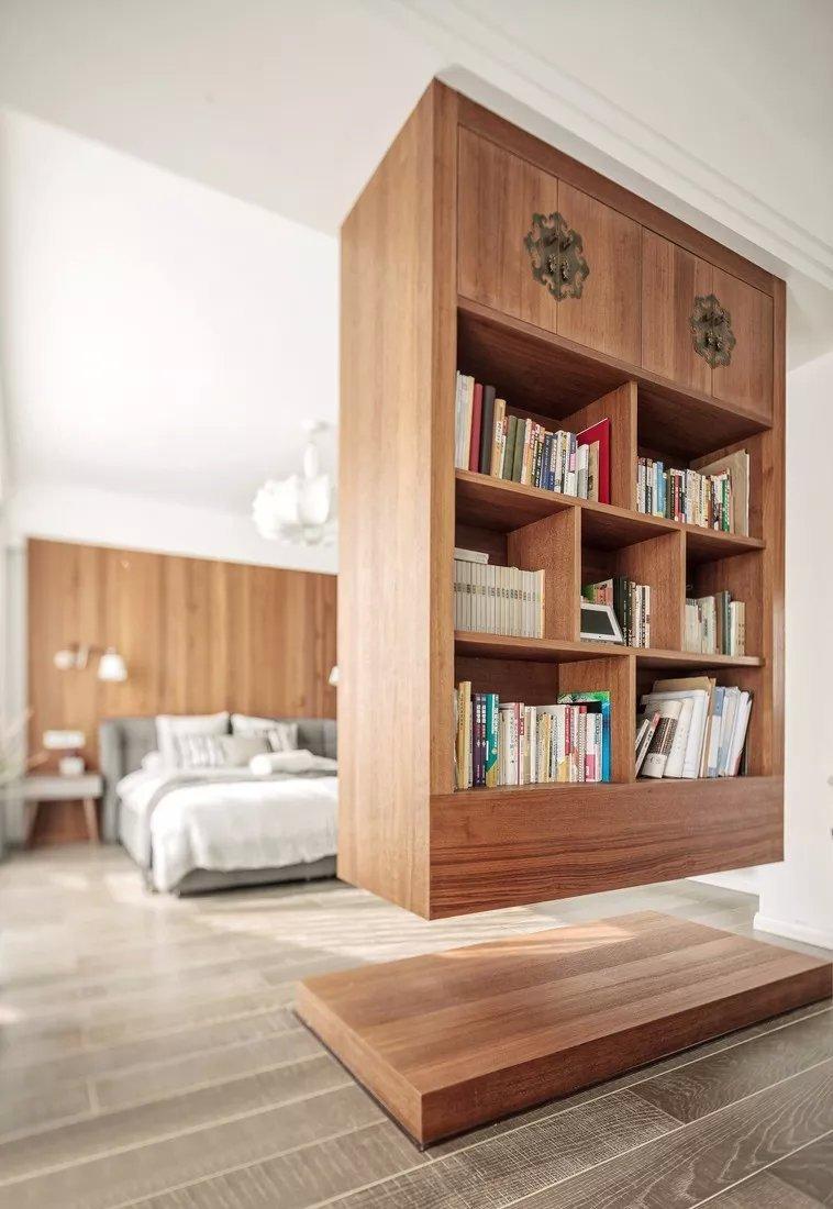 小戶型隔斷怎麽做?衣帽間、書房一個都不能少!