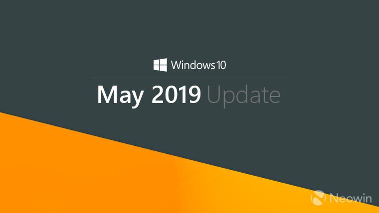 Win10 May 2019更新最低硬件要求的照片 - 1