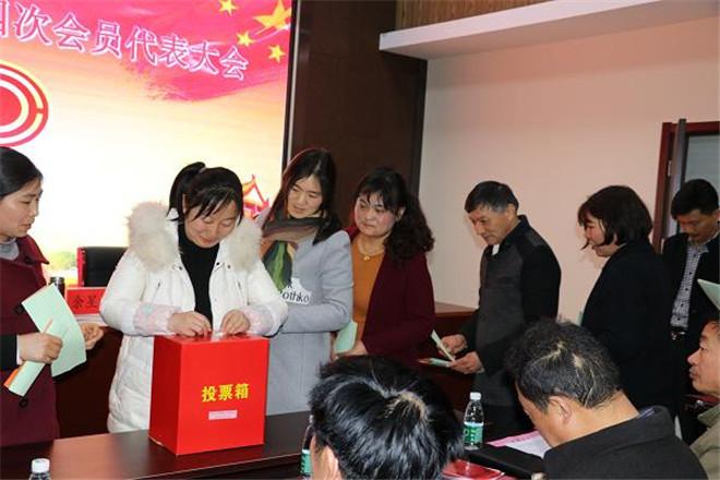 海安市南莫镇工会召开四届四次会员代表大会