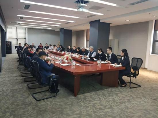"""北京外国语大学国际商学院""""艺术金融博士课程班""""第二次授课在潍坊举行"""