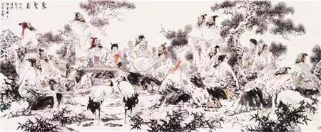 走进当代著名画家张金荣绘画艺术
