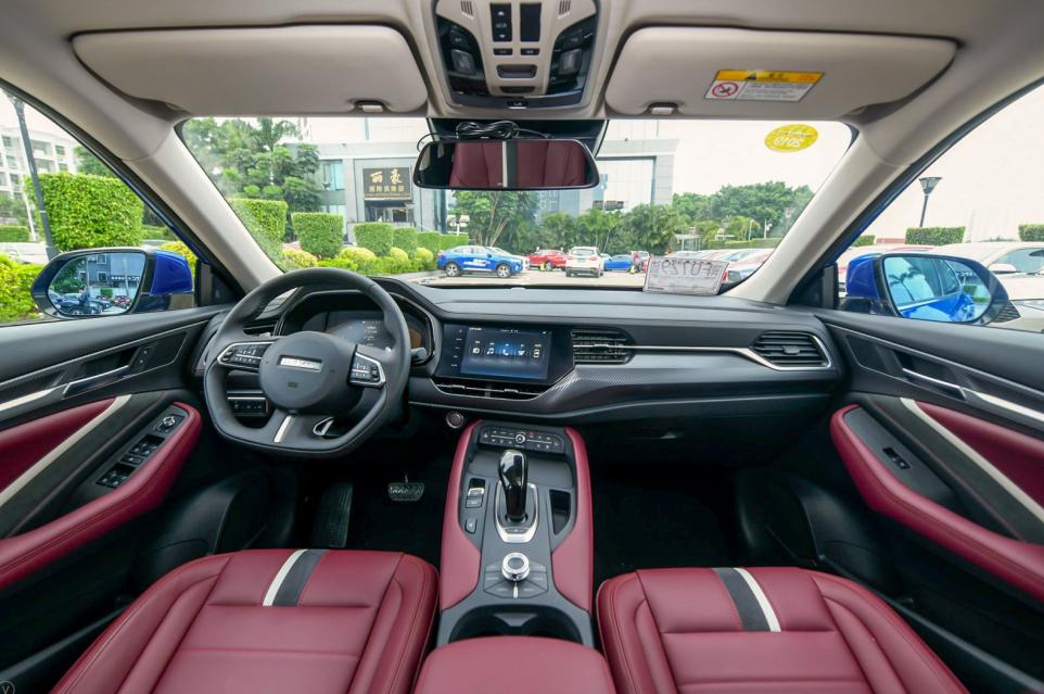 硬汉、暖男都为之倾心的轿跑SUV哈弗F7x究竟是什么样?