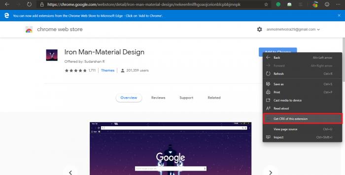 如何在新版Edge上安装和卸载Chrome主题的照片 - 3