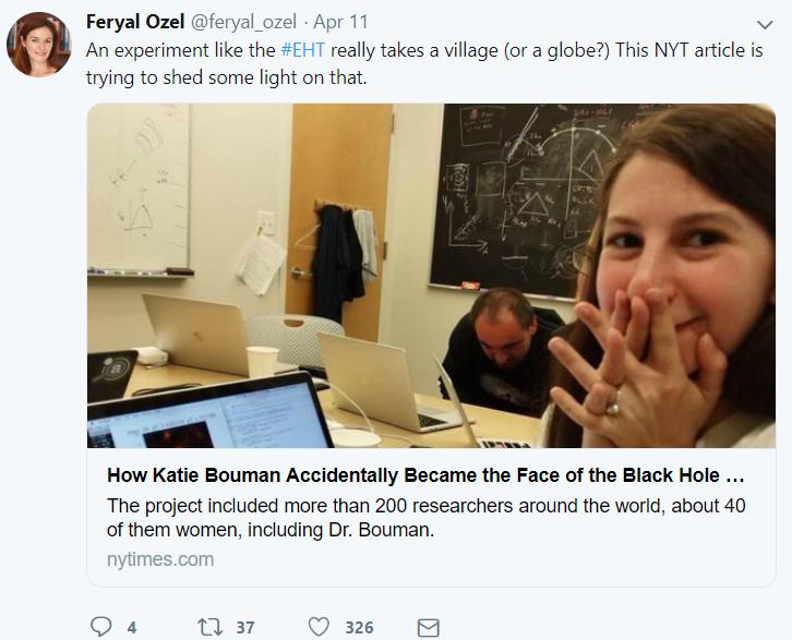 洗出黑洞照片的MIT女博士 正被互联网暴力疯狂骚扰的照片 - 6