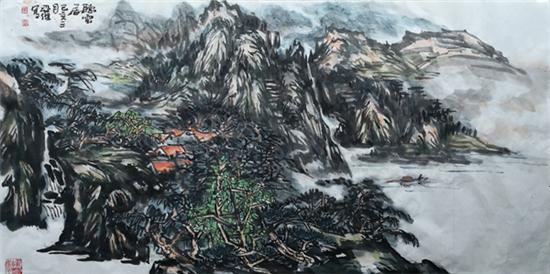 大氣恢宏寫萬千——著名山水畫家馬亞杰作品欣賞