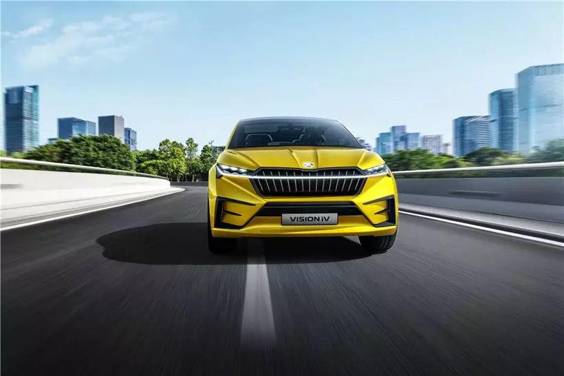斯柯达发布新规划 2022年前推10款纯电动车
