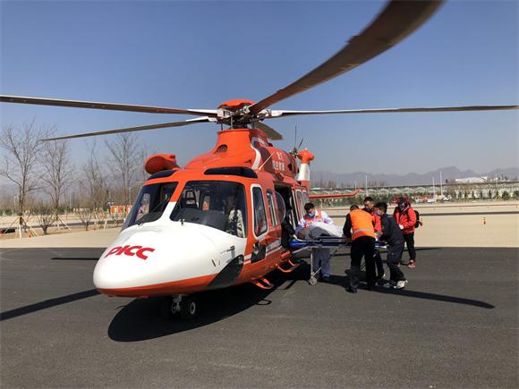 人保财险北京分公司配合开展警保联动空地一体化世园会保障救援演练