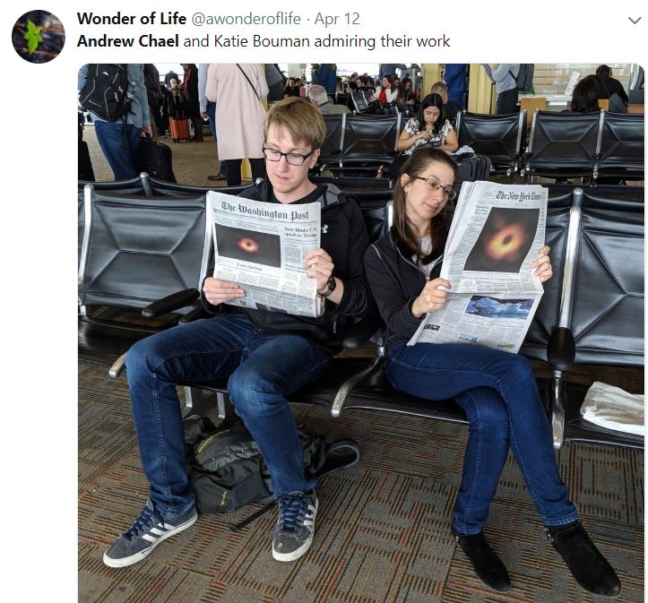 洗出黑洞照片的MIT女博士 正被互联网暴力疯狂骚扰的照片 - 8