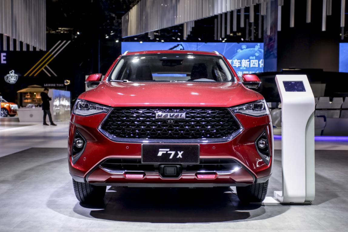 13.79万元起, 哈弗F7x极智科技版上海车展开启预售