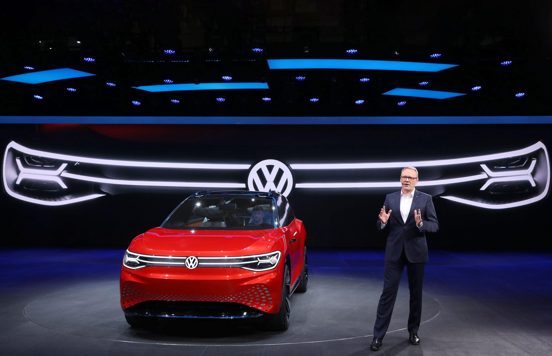 大众ID. Roomzz车展全球首发 预计2021年量产