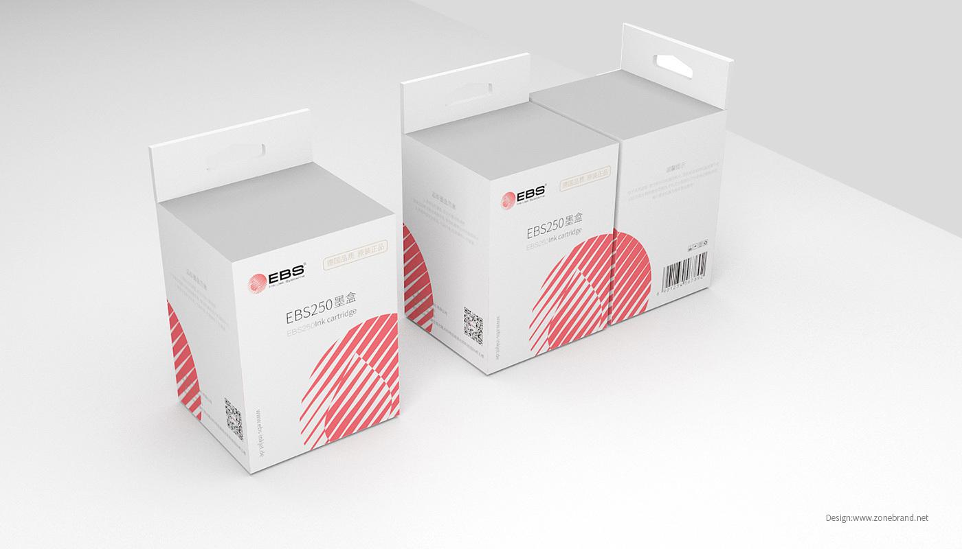 喷墨打印机耗材包装设计