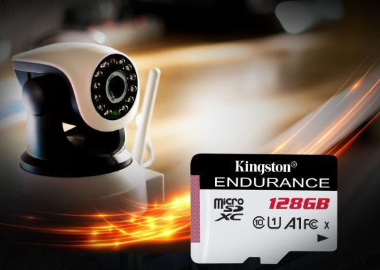 数据安全又耐用——金士顿High Endurance恒星microSD监控级存储卡
