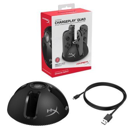 HyperX ChargePlay Quad十字星与Duo双子星充电底座全新上市