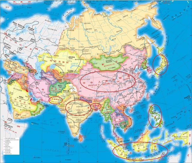 亚洲总人口_俄专家:欧洲和亚洲人口在世界总人口中的占比将下降