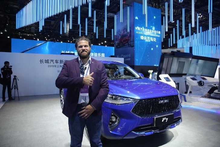 上海车展被外媒点赞最多的SUV,全球车哈弗F7&F7x生来不凡!