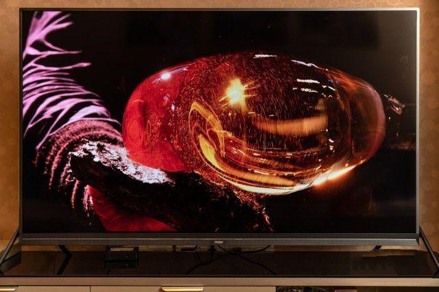 体验海尔LU55X81性价比极高的55寸4K电视