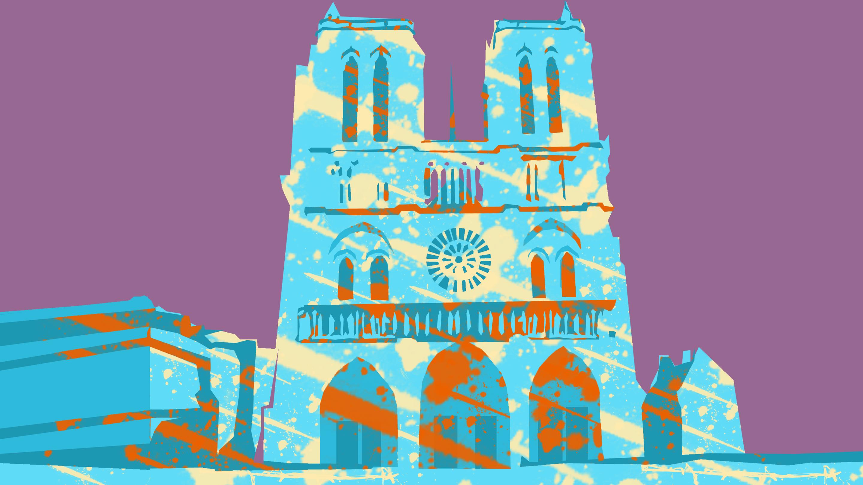 """""""巴黎圣母院""""烧毁:有些风景,一旦错过便再无机会"""