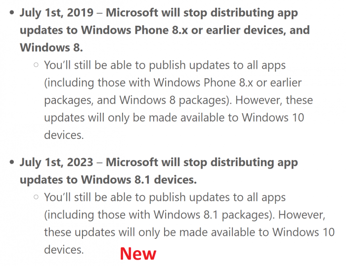 提前4年死亡:Win8系统将于今年7月1日起停止应用更新的照片 - 3