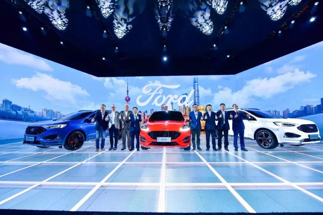 四款新车首发 2.0时代的福特在加速回归赛道