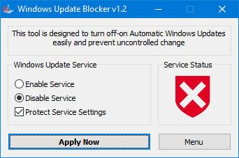 拒做Win10 1903尝鲜者:Windows Update Blocker 1.2发布的照片 - 2
