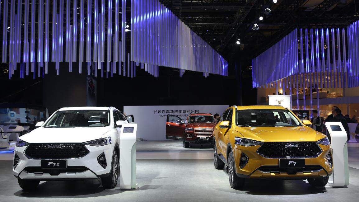 直击上海车展,看AI智能SUV哈弗F7怎样震撼众人!