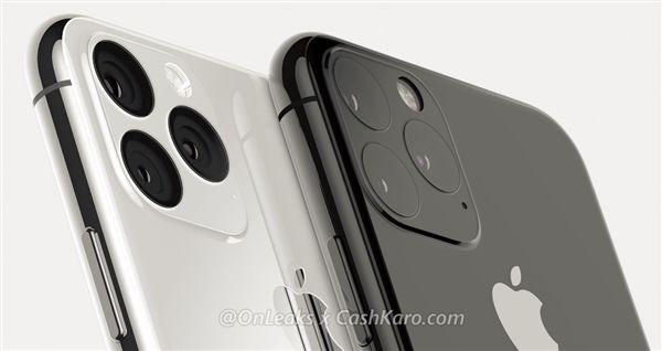 "iPhone 11、11 Max最新""浴霸""三摄渲染图:凸起上还有凸起的照片 - 4"