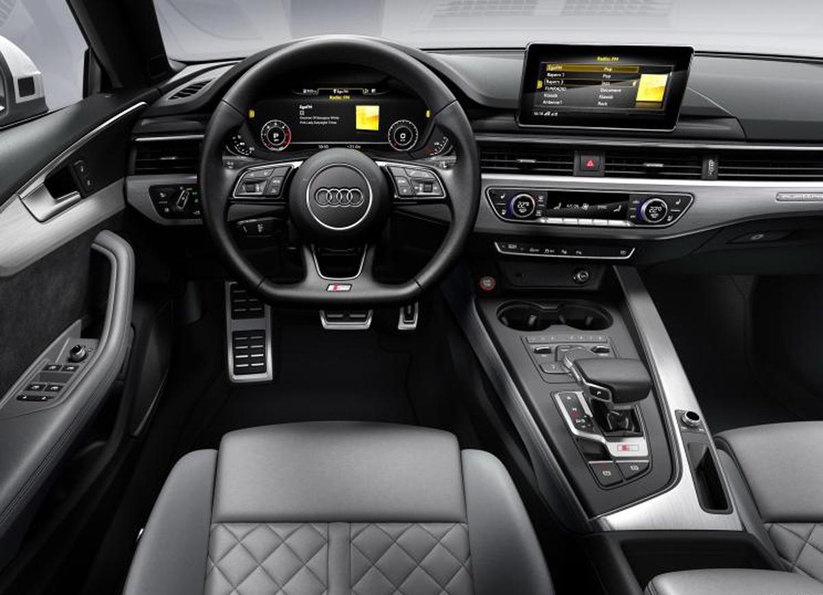 动力更强更环保 奥迪S5柴油版官图曝光