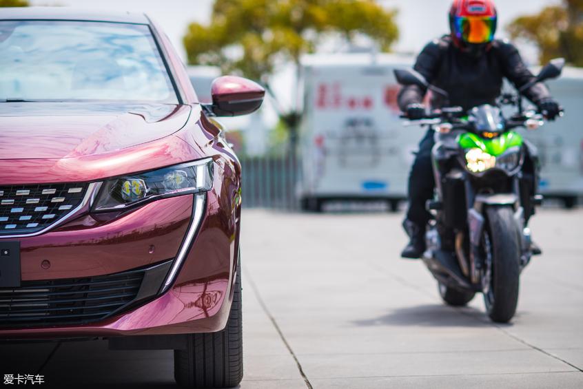 邂逅当代骑士精神508L X跨界川崎摩托车