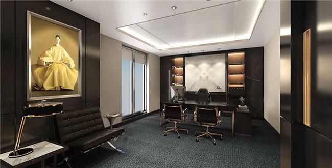 简约雅致的办公空间是企业源源不断的生命力!