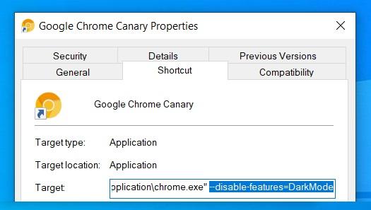 如何禁用新版Chrome的Dark主题的照片 - 3