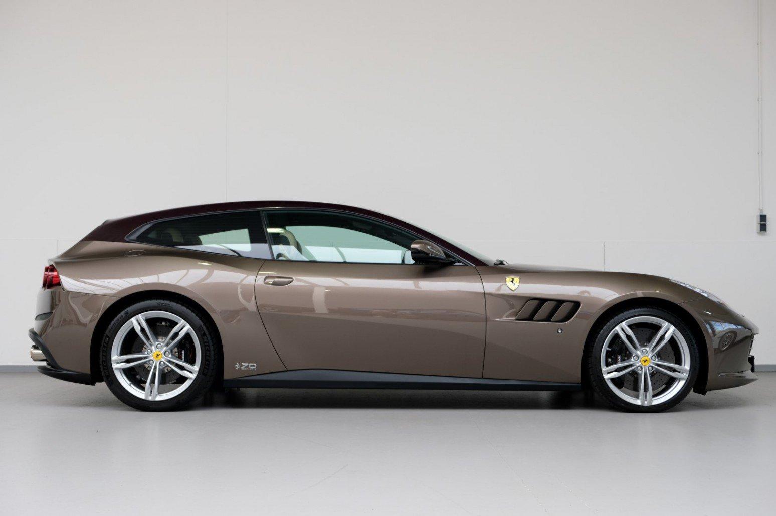 浅棕色车身 6.3升V12发动机 法拉利GTC4Lusso70周