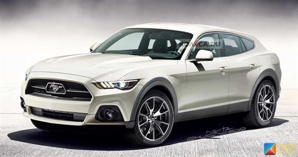 福特电动Mustang SUV渲染图曝光 或2021年正式上市