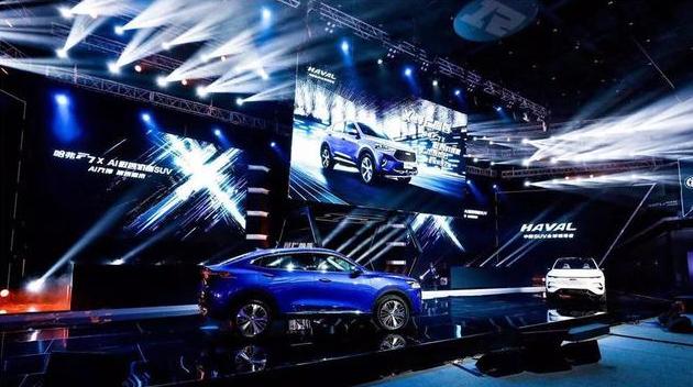 哈弗F7x智慧内核,为国产轿跑SUV树标杆!