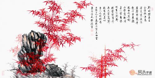 欣赏李传波的国画竹子图,这几幅就够了