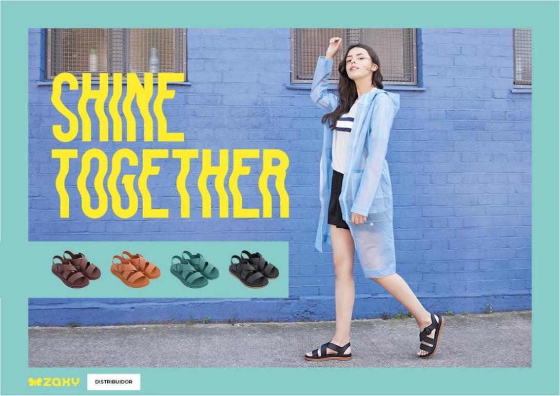 巴西果冻鞋Zaxy发布2019春夏系列