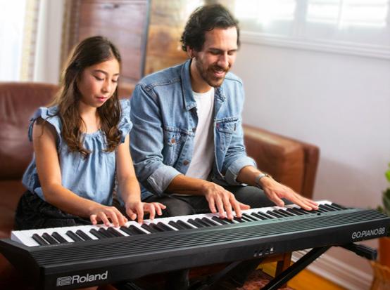 Roland电钢琴+随时随地自娱自乐,就是你独特的音乐梦想