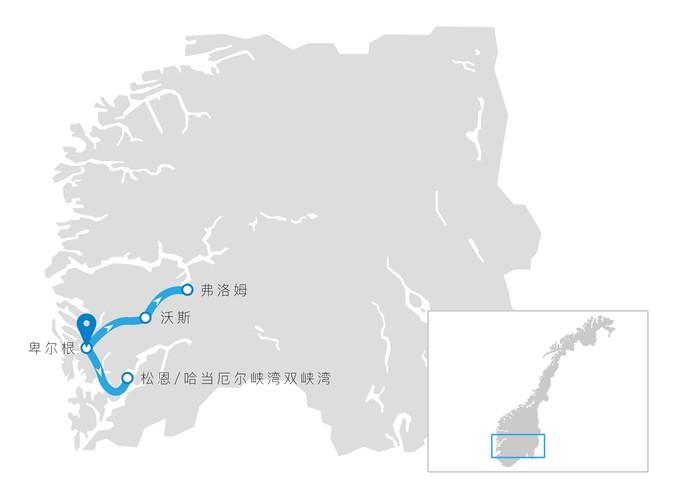 双峡湾线路图